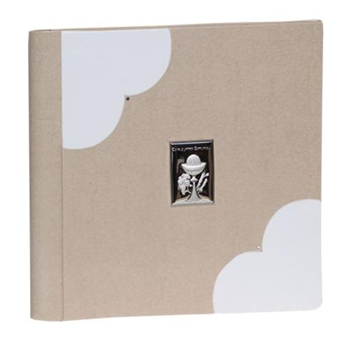 Ivan Model Album in leatherette with silver and rhinestones. Available in the 30x30 format Olimp Album