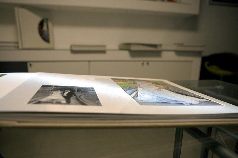 Olimp Fotolibro Artistico Passepartout stampato particolare