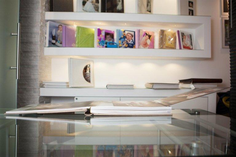 Olimp Fotolibro Artistico Apertura Destra