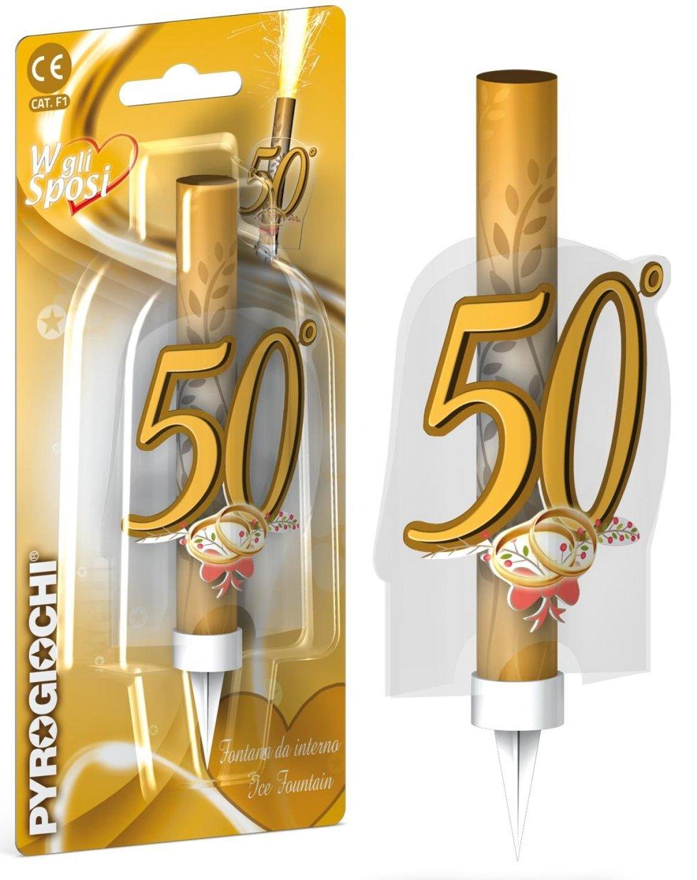 candele 50 anni