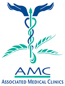 associated medical clinics amc business logo