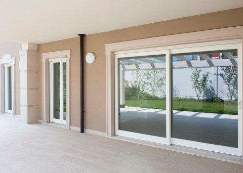 Finestre in legno e legno-alluminio