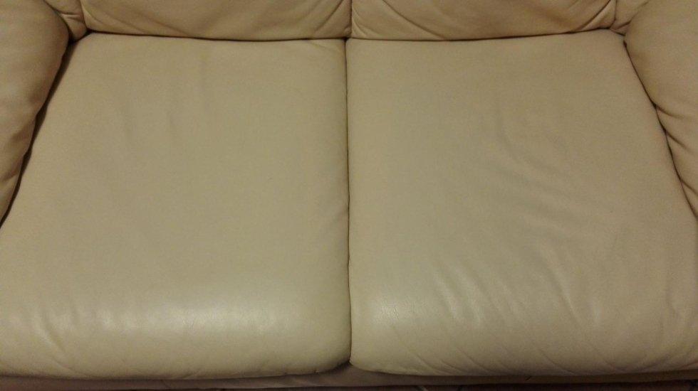Pulizia divani in pelle