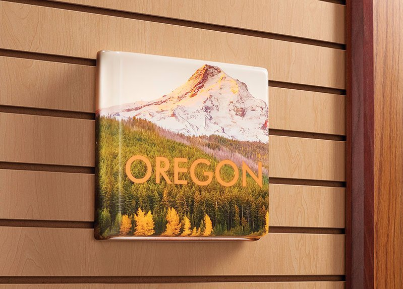 oregon printed formed panel