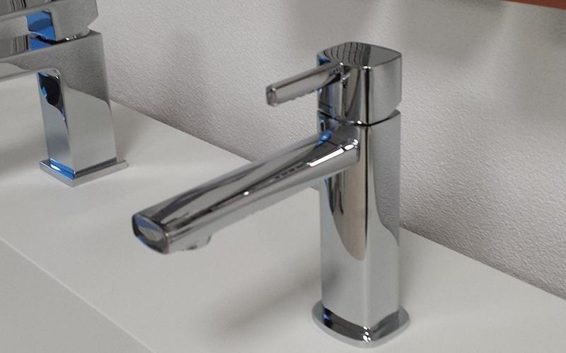 rubinetto cromato