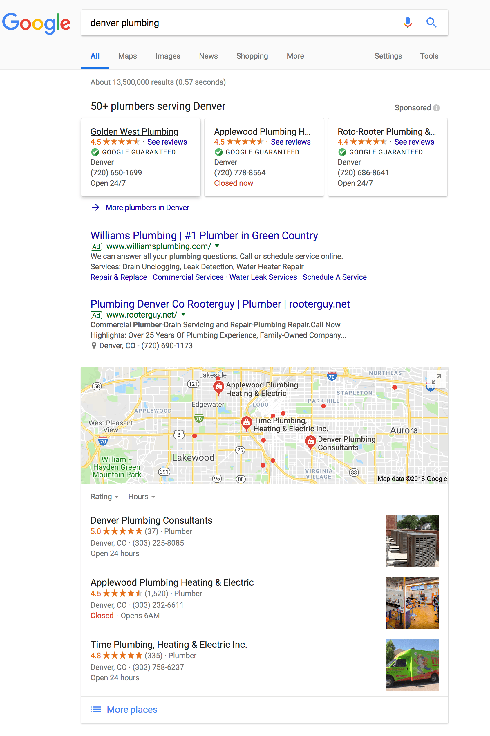 How Plumbers Land at the Top of Google Search