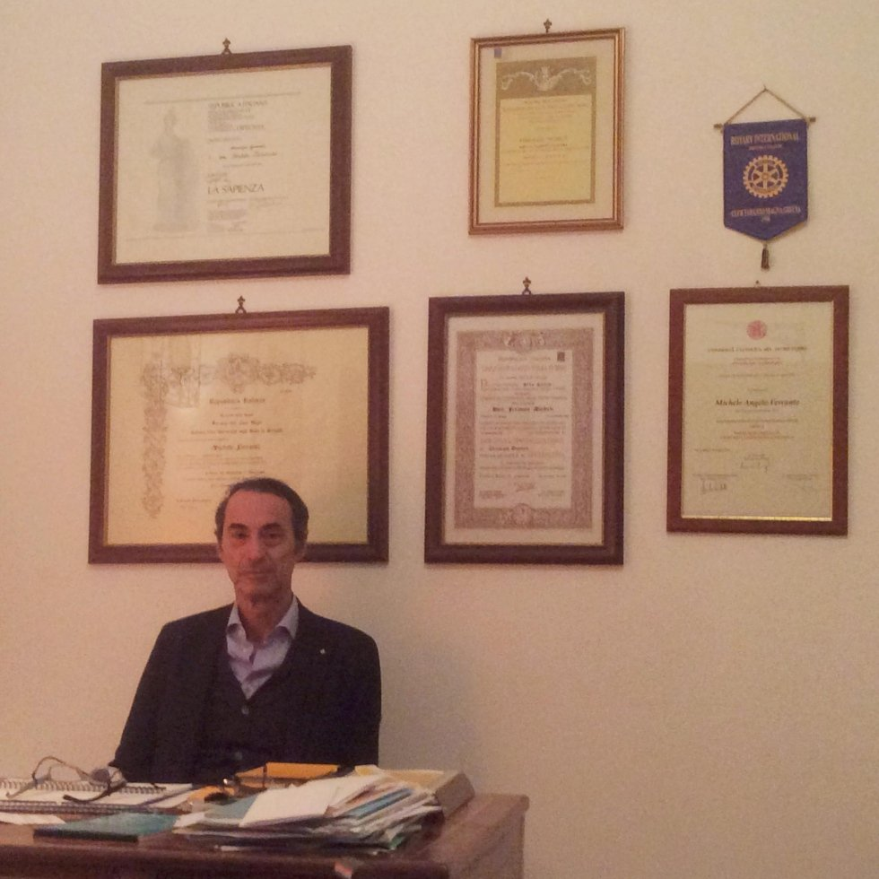 Il dott. Michele Angelo Ferrante