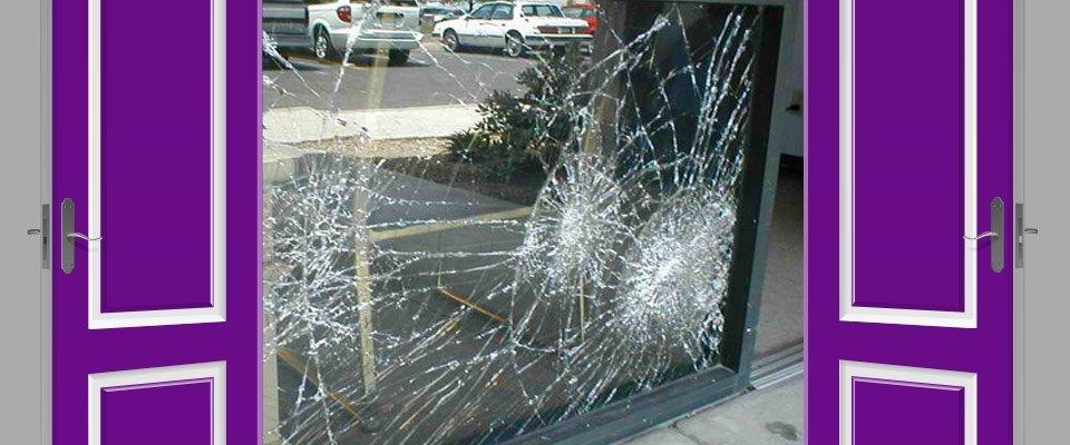 door lock window repairs pty ltd broken glass door outside