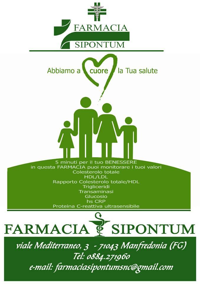 un volantino con degli omini verdi e la scritta abbiamo a cuore la tua salute
