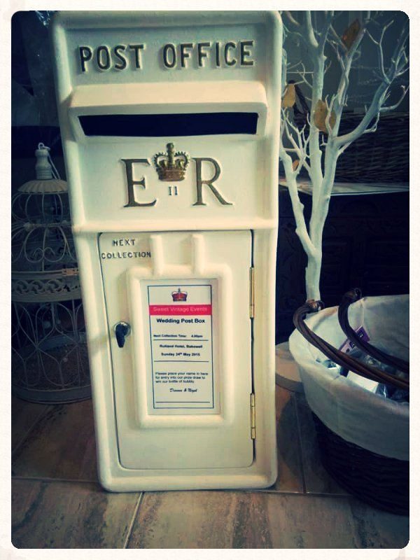 Wedding Postbox Ace Party