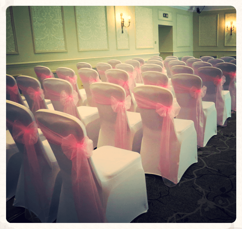 Chair Covers Wentbridge House Hotel Ace Party
