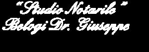 logo studio notarile Belogi Dott. Giuseppe