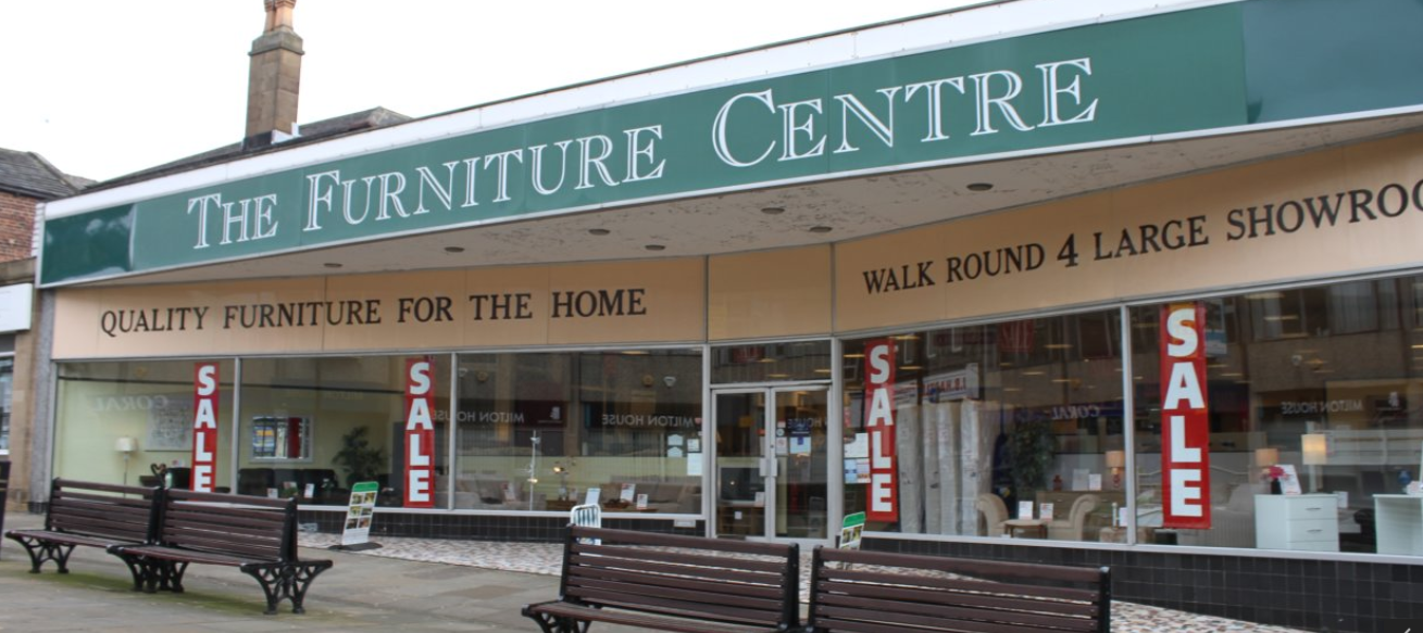 Top quality sofa available at The Furniture Centre in Morley