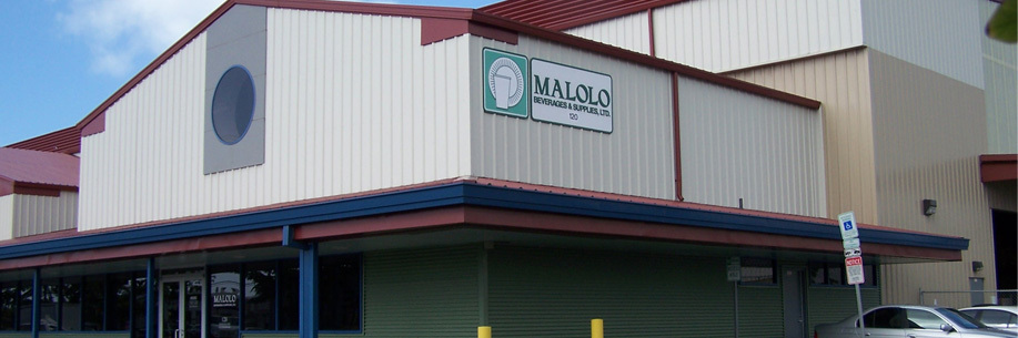 Malolo Beverages office in Honolulu, HI