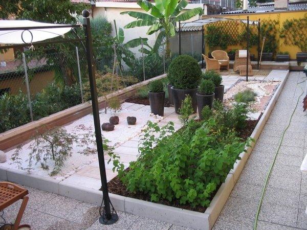 Creazioni verde per aree private