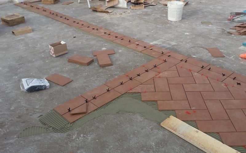 rifacimento pavimentazione