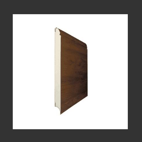 portone basculante in legno