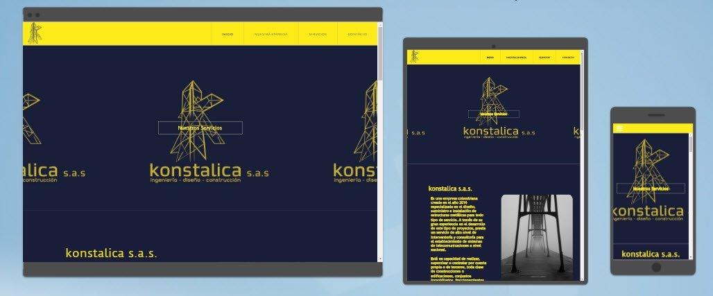 diseño sitios web Konstalica