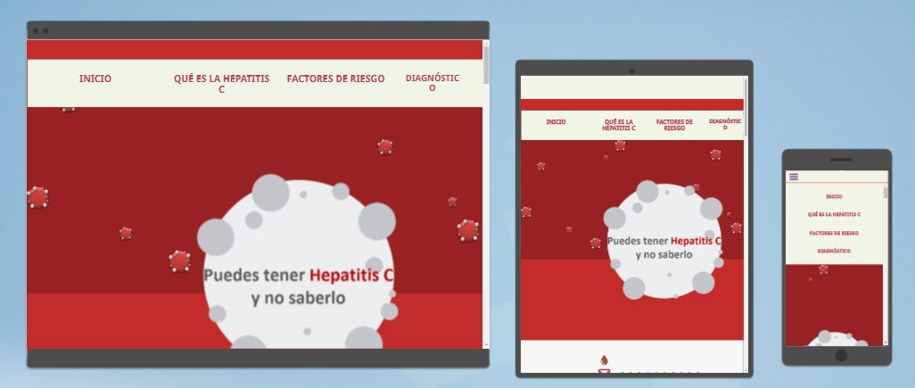 diseño sitios web no mas hepatitis c