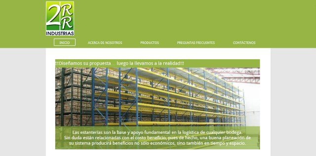 WSI sitio web Industrias 2RR