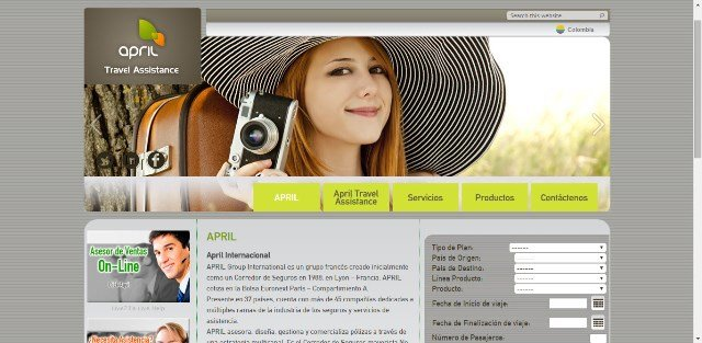 WSI sitios web April Travel Assistance