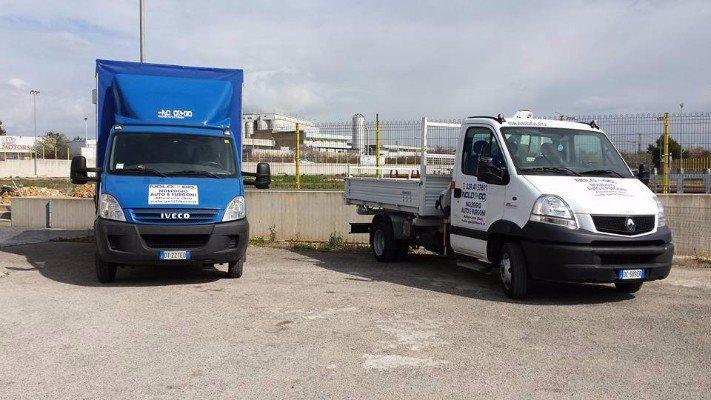 Noleggio di furgoni e camioncini