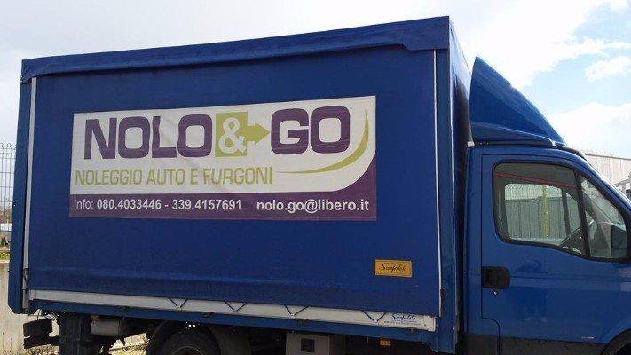 Furgon della compagnia Nolo&Go