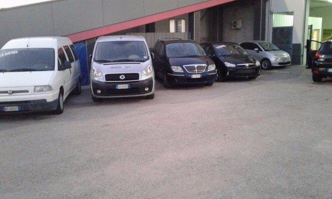 Alcune delle auto per noleggiare