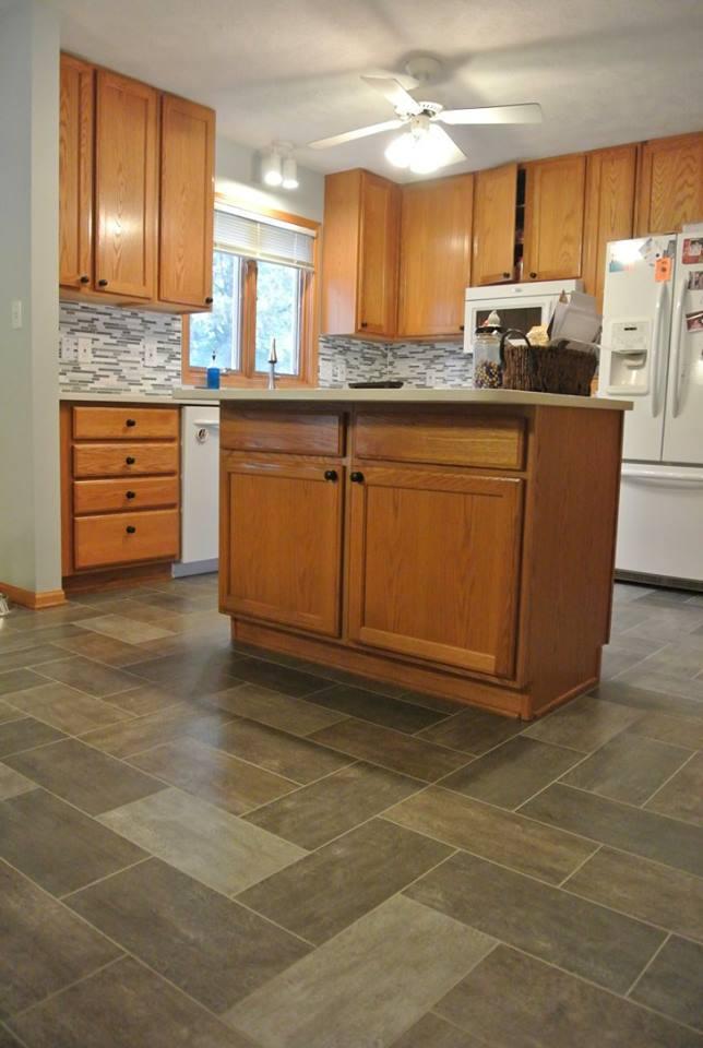 Tile floor in Lincoln, NE