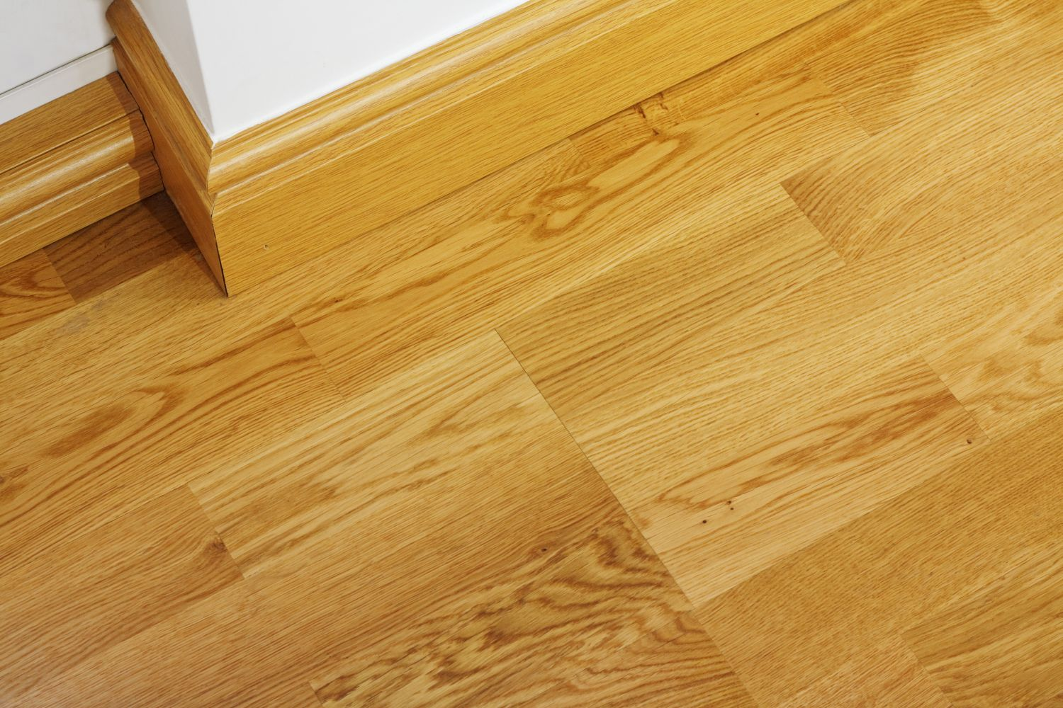 Overhead view of laminate flooring in Lincoln, NE