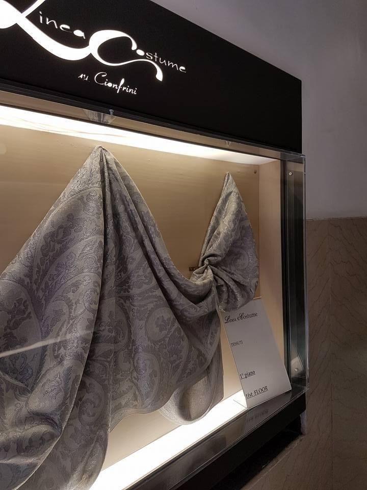 tessuti alta moda roma