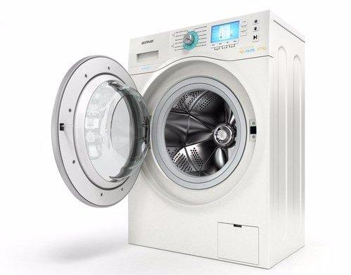 lavatrice con oblo' aperto