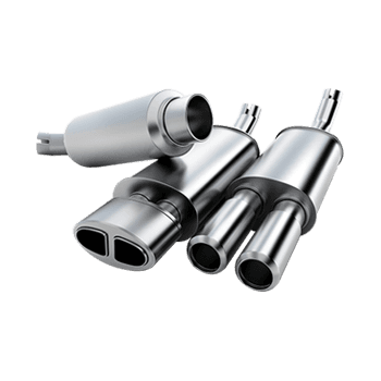 automotive muffler tips
