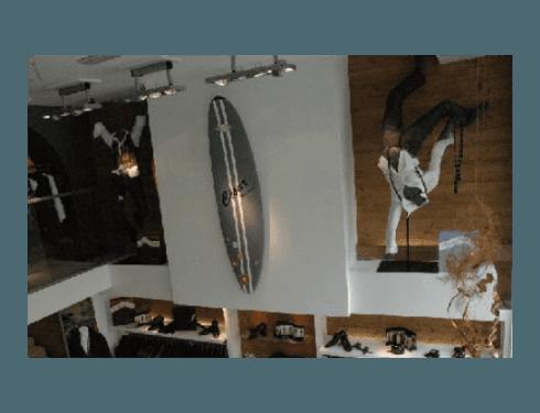 Impianti elettrici per negozi abbigliamento