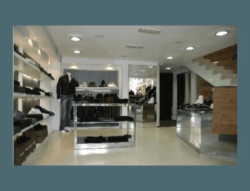 Sistemi di illuminazione per negozi