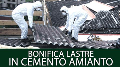 BONIFICA LASTRE IN CEMENTO AMIANTO