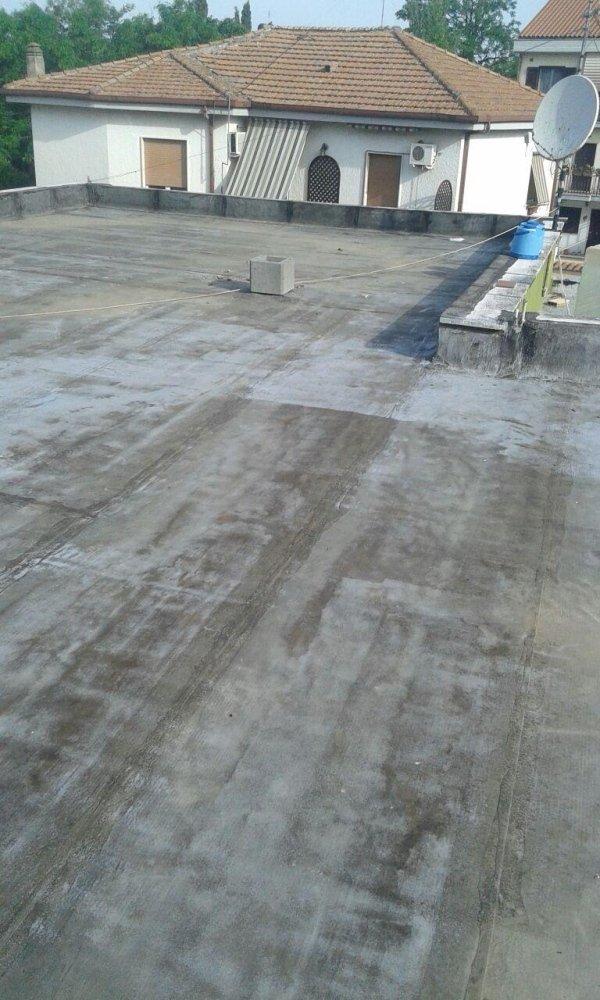 impermeabilizzazione ed isolamento termico di un terrazzo a vista