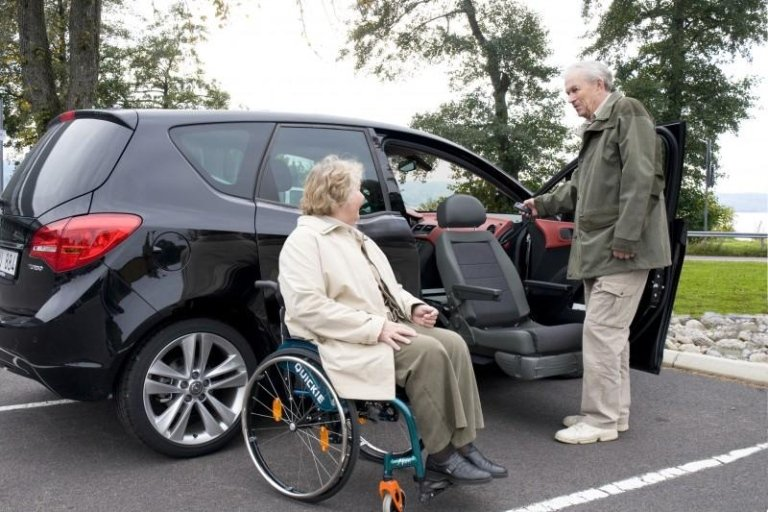 macchina per disabili