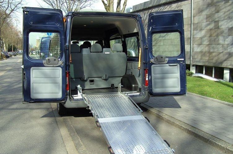 furgoni per disabili