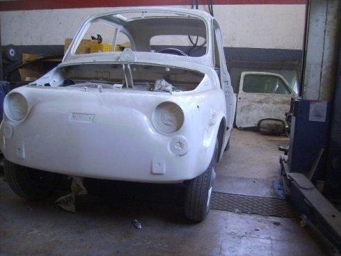 riparazione carrozzeria fiat 500