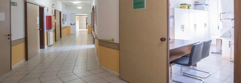 vista interna di una casa di riposo