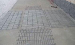 costruzione di gabbioni per difese idrogeologiche