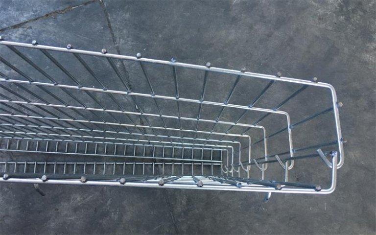 gabbione metallico montato