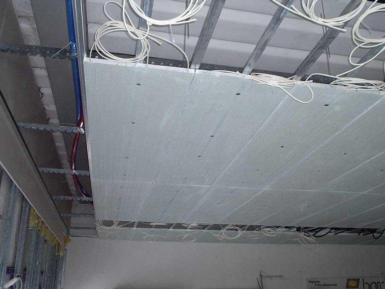 impianti radianti a soffitto
