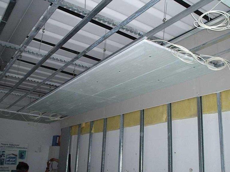 riscaldamento radiante a soffitto