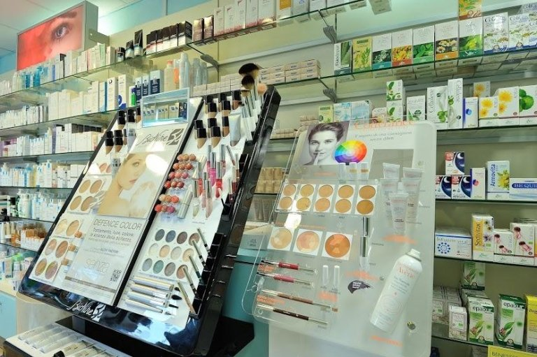 reparto cosmetici