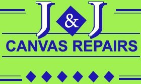 J and J canvas repairs logo
