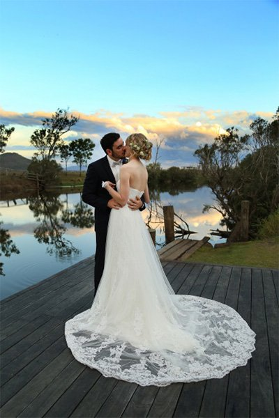 man and bride