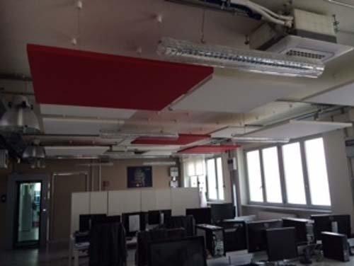 Controsoffitti con soluzioni ecocreative per gli uffici a Torino