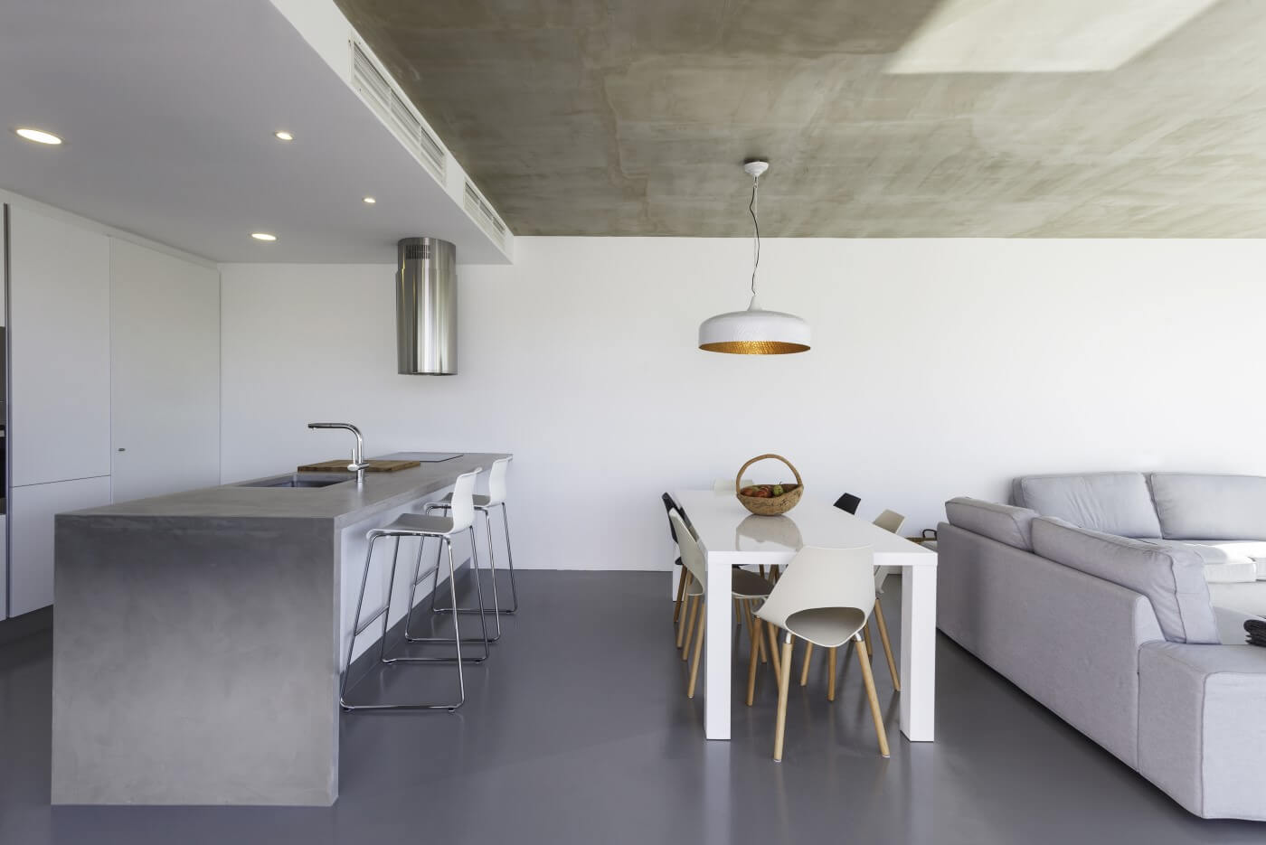 living room con soluzioni ecocreative